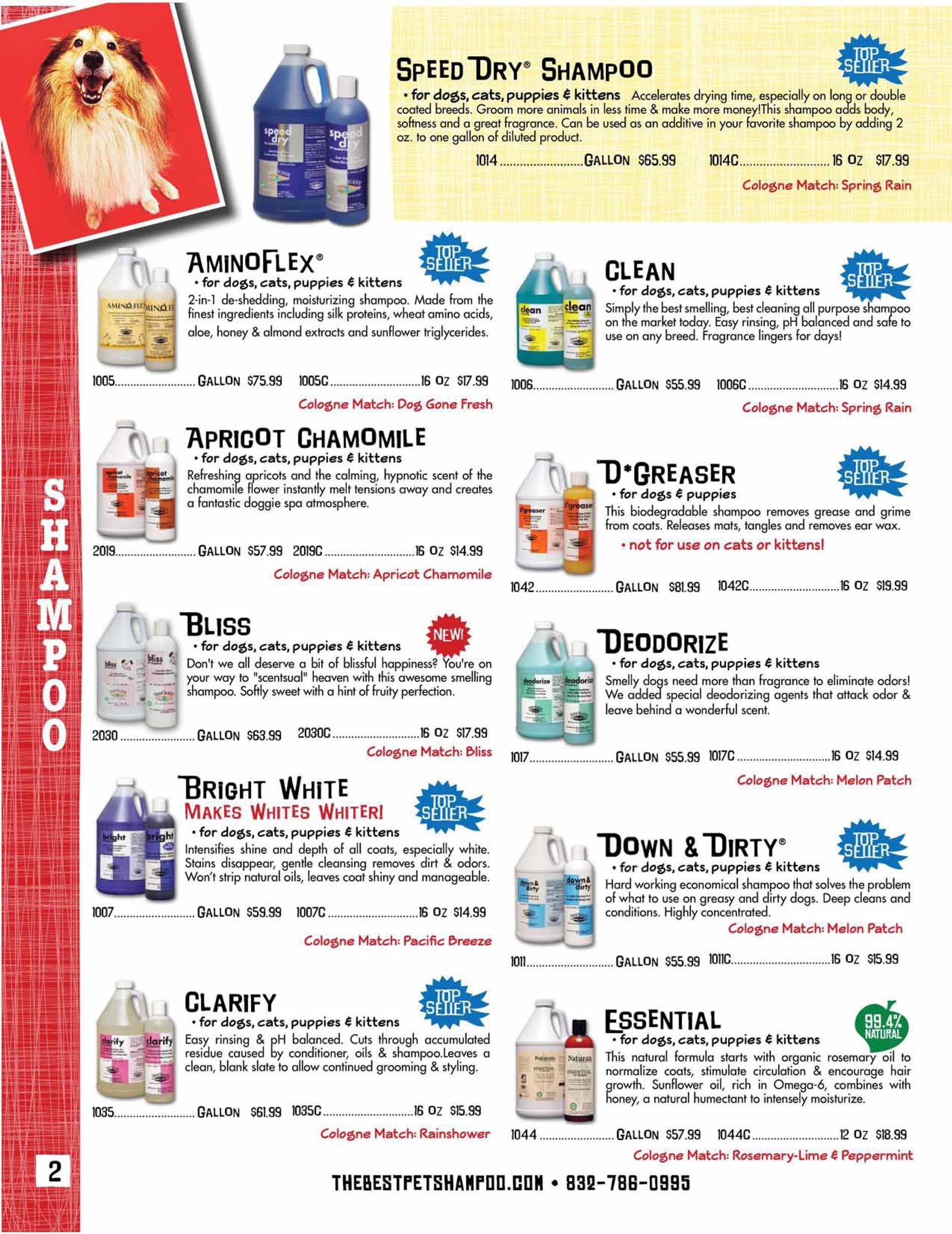 Dog Shampoo | Cat Shampoo | Pet Shampoo