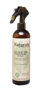 Naturals Leave In Dog Conditioner