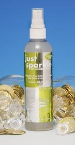 Just Sparkle Dog Conditioner Spray on glitter